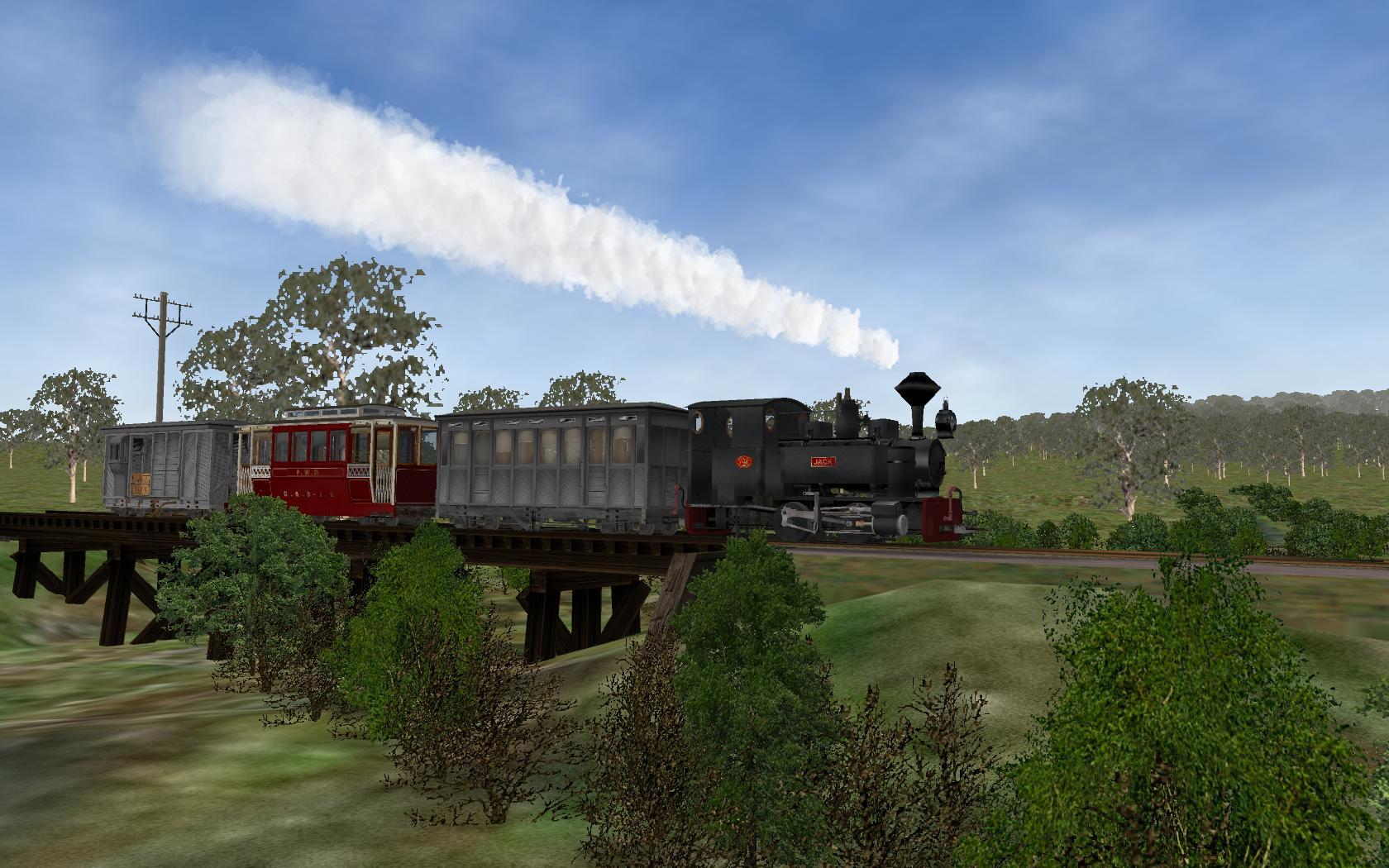 Burrinjuck Railway | Screenshots